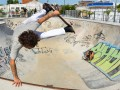 Skaters internacionales visitaron el Parque de Deportes Extremos de nuestra ciudad