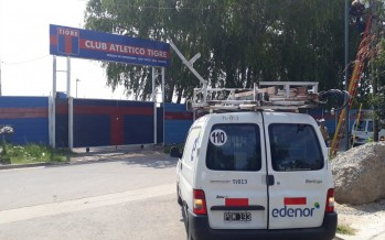 Edenor escrachó al Club Tigre por una conexión clandestina en su predio deportivo