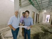 Avanza la construcción del nuevo Centro Vacunatorio Municipal