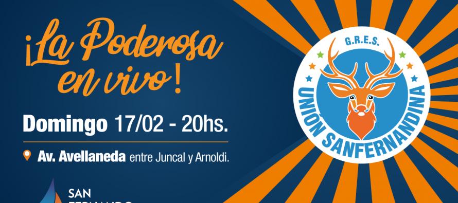Unión Sanfernandina realizará un ensayo abierto este domingo en Avenida Avellaneda