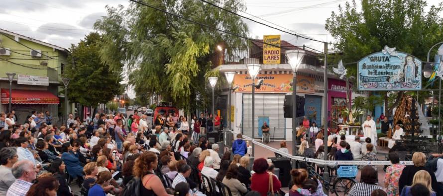 Festejos por la Virgen de Lourdes en Arnoldi y Cordero