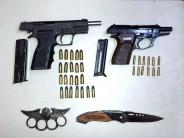 Detuvieron a nueve personas cuando robaban un comercio en Avellaneda y Azcuénaga