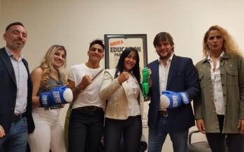 La Pantera Farías participó del acto que declaró al 25 de marzo como el Día de la Mujer Boxeadora