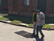 Tareas de control de plagas en los barrios Alvear y San José