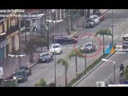 Interceptaron un auto robado en la Avenida Avellaneda y detuvieron al conductor en estado de ebriedad