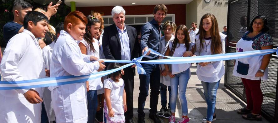 Inauguración de la obras de la Primaria N° 21 y Secundaria N° 10