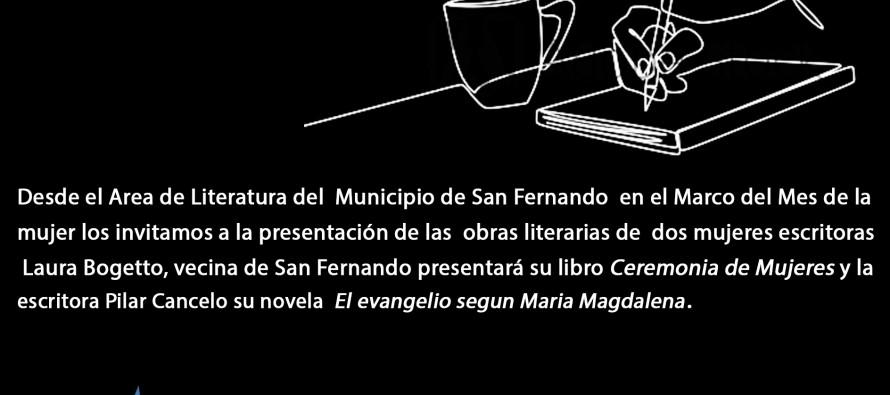 """Las escritoras Laura Bogetto y Pilar Cancelo presentan el viernes sus libros en la Quinta """"El Ombú"""""""