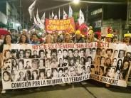 Se realizó el acto en plaza Canal y la marcha hacia Astarsa por el Día de la Memoria