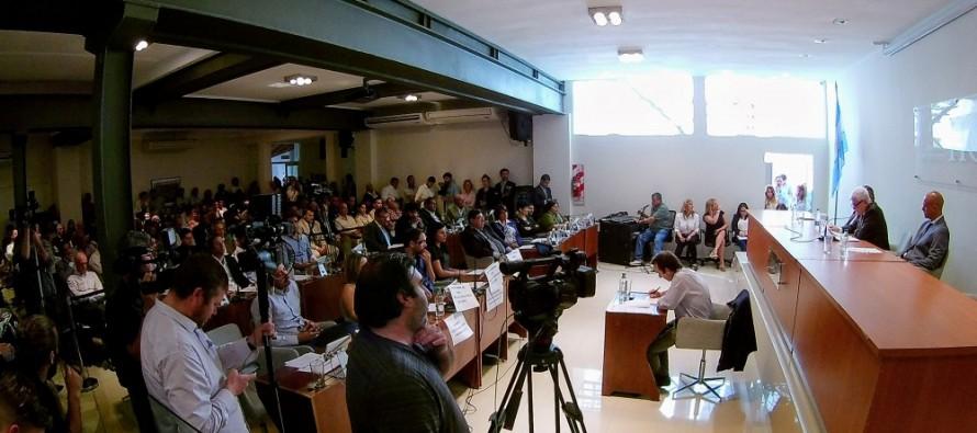 Andreotti realizó su última apertura de sesiones del Concejo Deliberante