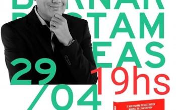 """Bernardo Stamateas presenta su nuevo libro """"Soluciones Prácticas"""" en Avellaneda al 3000"""