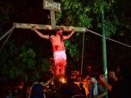 Mañana se conmemorará el tradicional Vía Crucis en la Plaza Carlos Gardel