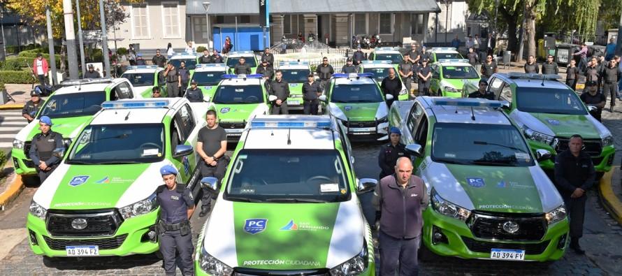 Se incorporaron 16 nuevas patrullas a la flota municipal de protección ciudadana