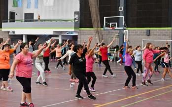 Clases de ritmos latinos en los polideportivos de nuestra ciudad