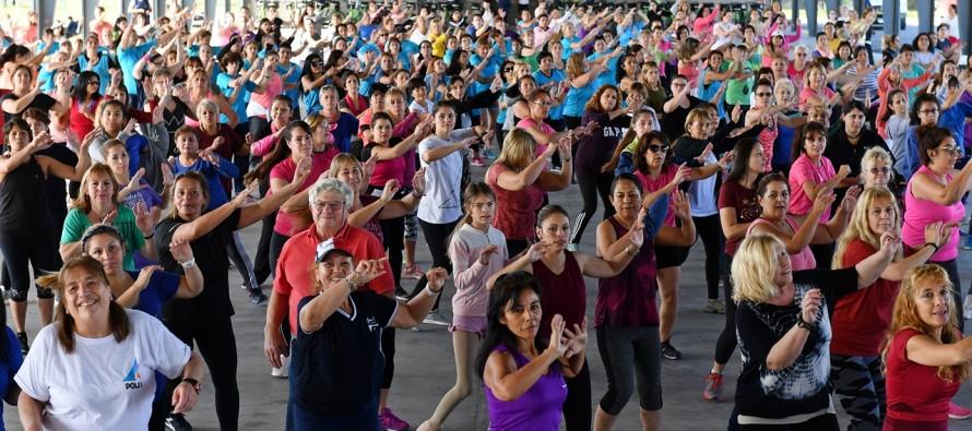 Masterclass de fitness en el Parque Náutico