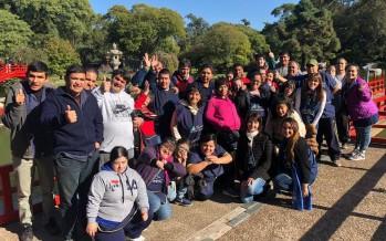 Los chicos del Taller Protegido visitaron el Jardín Japonés