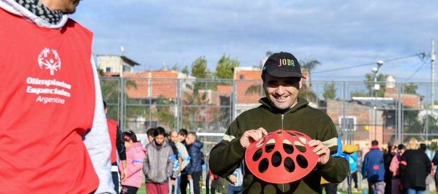 El Poli N°8 fue sede de las Olimpiadas Especiales Argentinas en su etapa regional