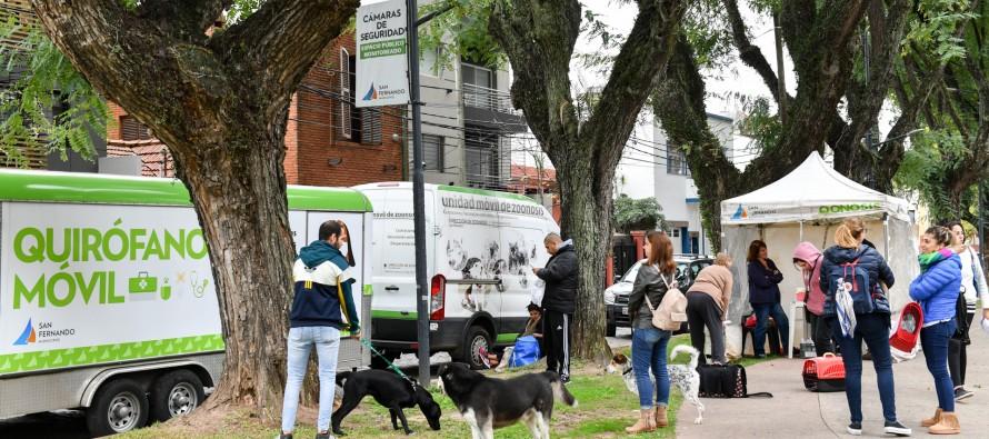 El 'Municipio en tu Barrio' volvió a la Plaza Dorrego