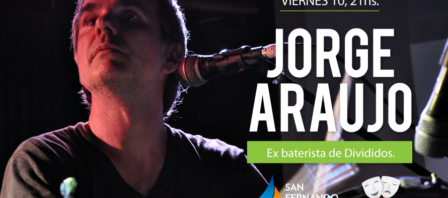 Este finde llegan el baterista Jorge Araujo y la película clásica 'Cinema Paradiso' al Teatro Martinelli