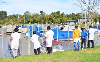 Alumnos de la Escuela N° 8 realizaron un paseo náutico por las costas de nuestra ciudad