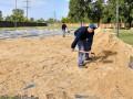 Nueva cancha para la práctica de deportes de playa en el Poli 1