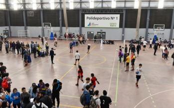 Comenzaron las Olimpiadas Intercolegiales Municipales en el Poli N°1