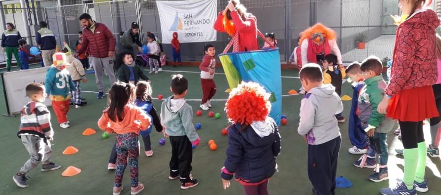 Tarde de actividades recreativas para niños en el Poli 6