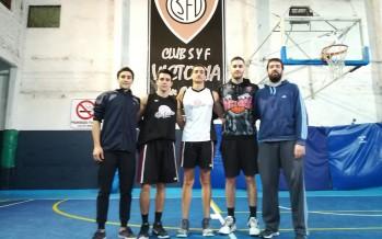 """Sub 23 de básquet del Club Victoria: """"La fuerza de la voluntad siempre supera los obstáculos"""""""