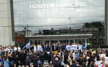 Momento trascendental en nuestra ciudad: se inauguró el Hospital Municipal ´San Cayetano´
