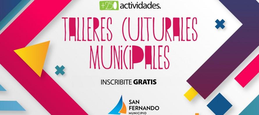 Continúa abierta la inscripción para los talleres culturales municipales