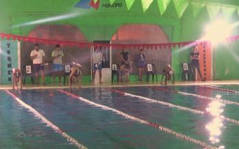 """Comenzó en el """"Poli"""" N°7 la etapa local de natación de los Juegos Bonaerenses 2019"""