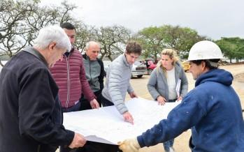 Avanzan las obras de renovación de la Costanera Municipal
