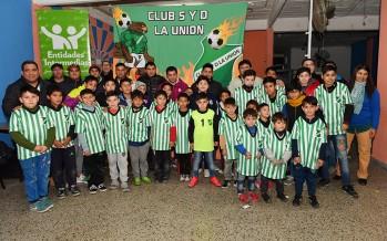 """El Club Social y Deportivo """"La Unión"""" de Virreyes volvió a tener fútbol infantil"""