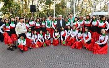 Se conmemoró el Día del Inmigrante Italiano en la Plaza Mitre