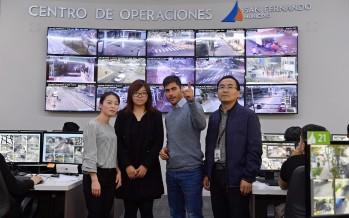 El Centro de Operaciones recibió la visita de la empresa china Dahua Technology