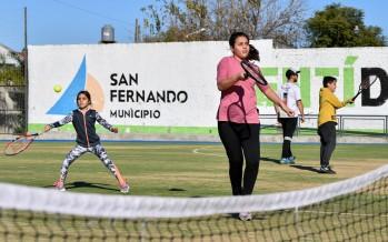 Se realizó en en Poli N°7 un nuevo Torneo de Tenis Interescuelas