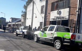 Se realizó un simulacro de evacuación en la Escuela Nº 17 de Victoria