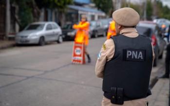 Se realizó un operativo de seguridad en barrio Crisol