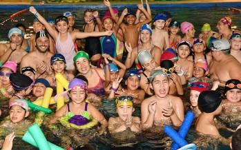 """En el """"Poli"""" N° 6 se realizó un encuentro de natación interpolideportivos"""