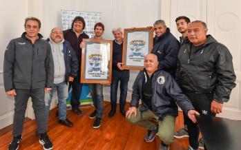 Andreotti recibió a los Ex Combatientes de Malvinas de nuestra ciudad