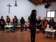 Se dictó un nuevo Taller de Apego en un centro comunitario del barrio Presidente Perón