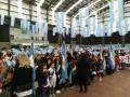 Más de 3 mil de alumnos prometieron lealtad a la bandera en el Poli N°1