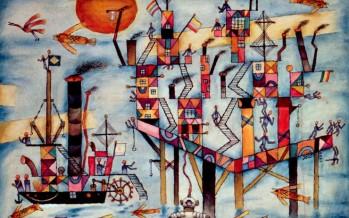 Xul Solar: una aerolínea eligió cuadros del pintor sanfernandino para decorar un avión