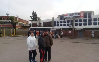 Protesta en la entrada de Cocarsa por el despido de dos trabajadores