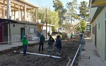 Mejoras en el pavimento y en el sistema hidráulico del barrio San Lorenzo