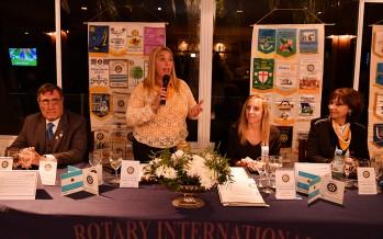 Renovación de autoridades en el Rotary Club de Punta Chica