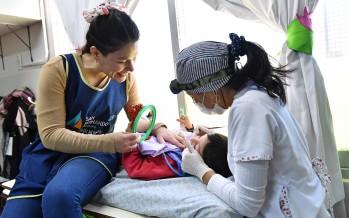 Controles odontológicos a los chicos de los jardines maternales municipales