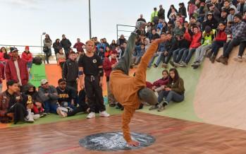 Breaking y hip hop en el Parque de Deportes Extremos