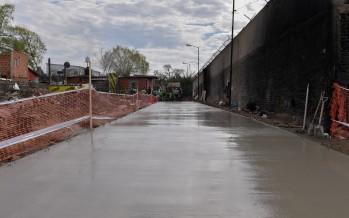Mejoras de pavimento y sistema hidráulico en el barrio Alvear