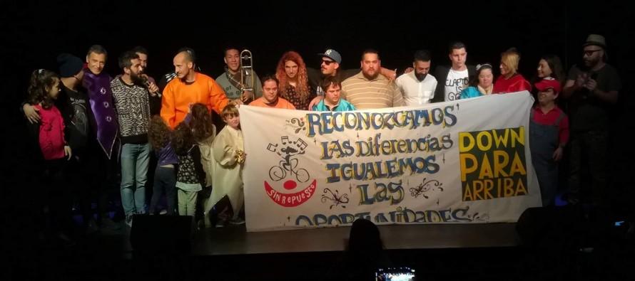 De la mano de Sin Repuesto, la inclusión llegó a la cartelera del fin de semana del Teatro Martinelli
