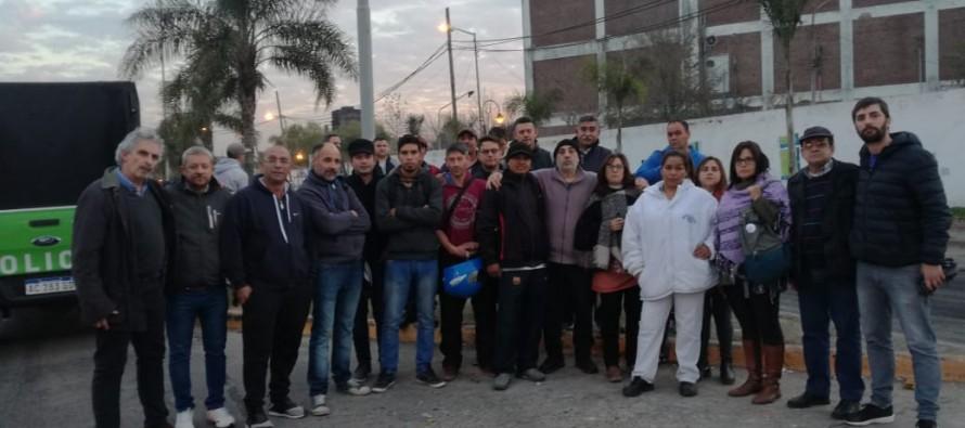 La CTA Zona Norte se solidarizó con los trabajadores de Ecocarnes